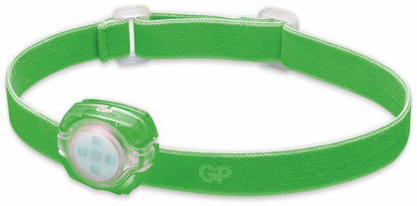 LED-Stirnlampe GP KIDS CH 31, 40 lm, grün