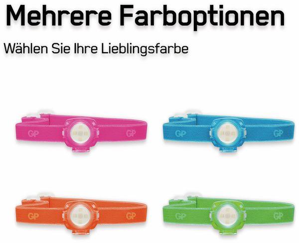 LED-Stirnlampe GP KIDS CH 31, 40 lm, grün - Produktbild 2