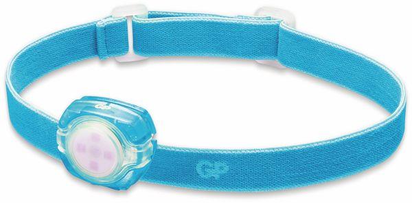 LED-Stirnlampe GP KIDS CH 31, 40 lm, blau