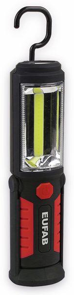 LED-Arbeitsleuchte EUFAB 13494 batteriebetrieben rot/schwarz