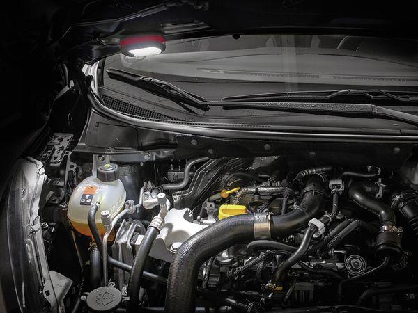 LED-Arbeitsleuchte EUFAB 13450 batteriebetrieben rot/schwarz - Produktbild 6