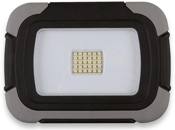 LED-Fluter MÜLLER LICHT Jack, 20 W, 1400 lm, 6500 K, Akkubetrieb, grau/schwarz