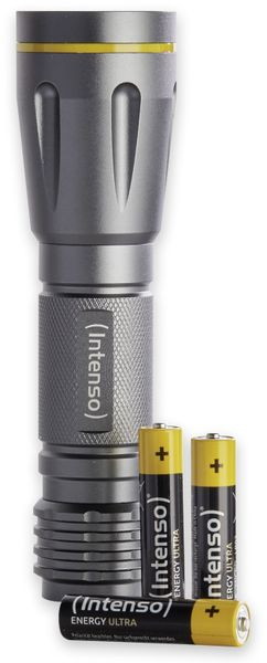 LED-Taschenlampe INTENSO Ultra Light 120, Aluminium