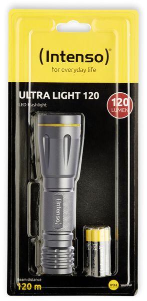 LED-Taschenlampe INTENSO Ultra Light 120, Aluminium - Produktbild 4