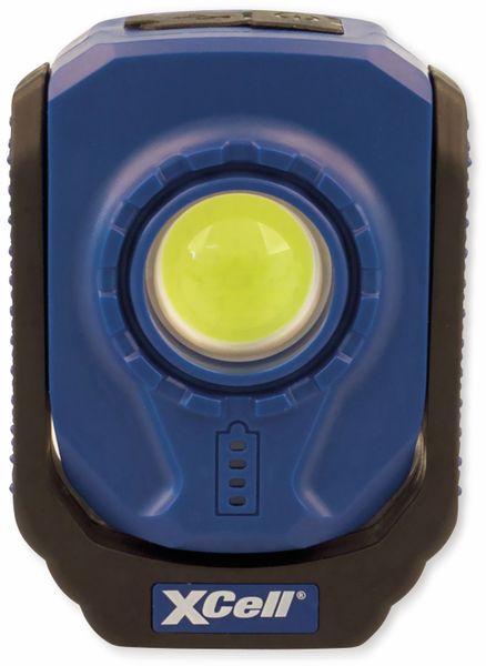 LED Arbeitsleuchte XCELL Work Pocket, 6 W, 360° schwenkbar mit Clip, aufladbar
