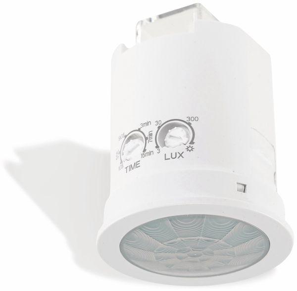 """Deckeneinbaurahmen Bewegungsmelder 360° """"M50"""", 50x63 mm, weiß"""