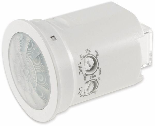 """Deckeneinbaurahmen Bewegungsmelder 360° """"M50"""", 50x63 mm, weiß - Produktbild 2"""