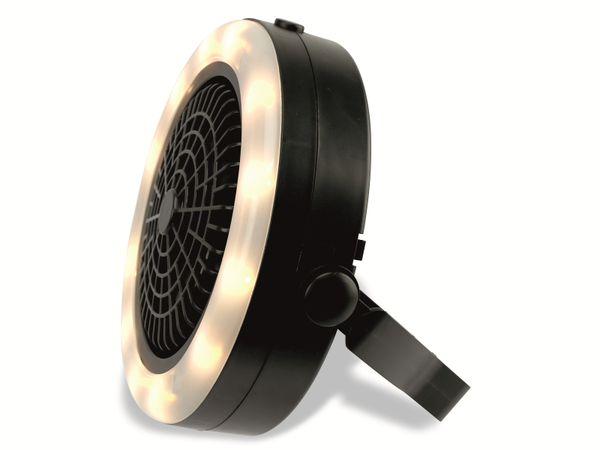 LED-Campingleuchte mit Ventilator GRUNDIG, 12 LEDs - Produktbild 3