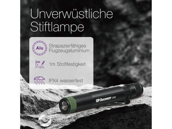 Taschenlampe GP CP22, Penlight, UV-Licht - Produktbild 2