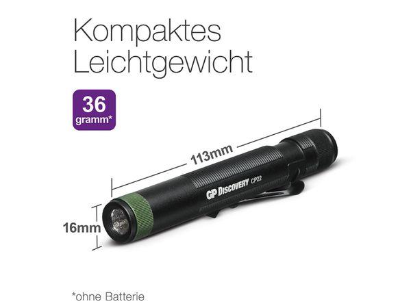 Taschenlampe GP CP22, Penlight, UV-Licht - Produktbild 21