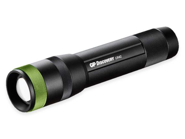 LED-Taschenlampe GP Discovery CR42, 1000 lm, 170 m