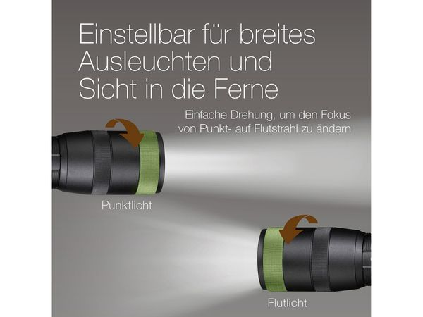 LED-Taschenlampe GP Discovery CR42, 1000 lm, 170 m - Produktbild 6