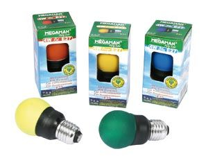 Energiesparlampen-Set MEGAMAN Party Color - Produktbild 1