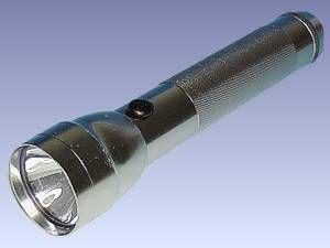 Alu-Taschenlampe, silber