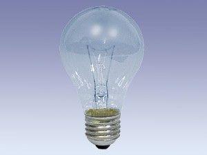 Glühlampe, E27, 125 V, 60 W