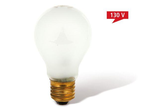 Glühlampe, max. 130 V/100 W, matt