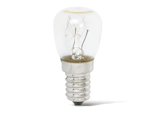 Birnenlampe, Backofen, E14, EEK: E, 25 W, 110 lm