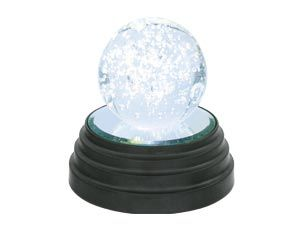Glaskugel-Leuchte