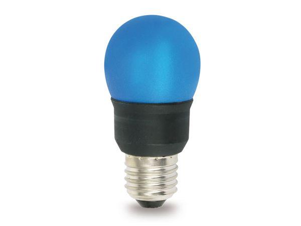 Energiesparlampe, blau, E27, EEK: B, 7 W, 221 lm