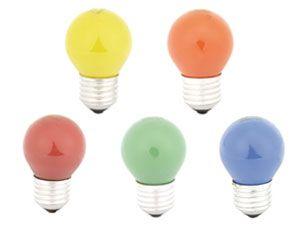 Glühlampen-Set GRUNDIG, farbig, 10 Stück - Produktbild 1