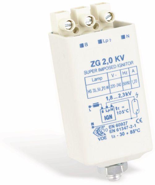 Zündgerät ZG 2,0 KV, 35...70 W