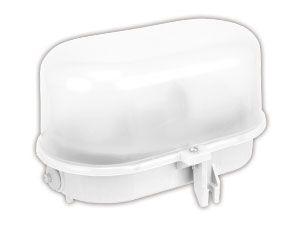 Ovalarmatur POPP, Kunststoff, IP44, max. 60 W - Produktbild 1