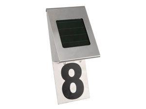 Solar-Hausnummernleuchte RANEX SOLO 5000.218 - Produktbild 1