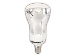 Energiespar-Reflektorlampe HEITRONIC, E14, 9 W