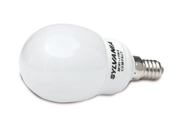 Energiesparlampe SYLVANIA, E14, 9 W, 432 lm