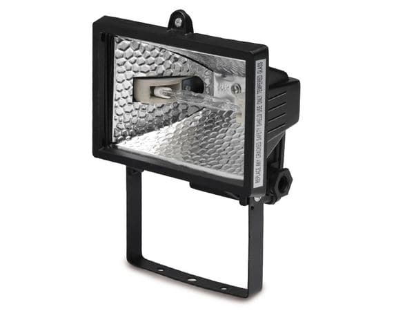 Halogen-Flutlichtstrahler STELIGHT, 500 W, schwarz