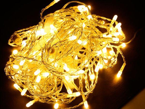 LED Lichterketten-Vorhang, 230 V~, 96 LEDs