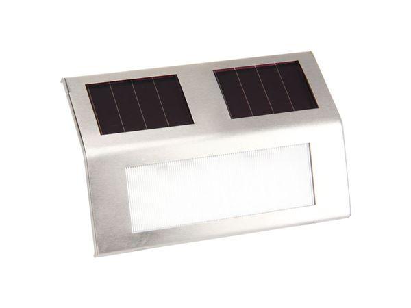 Edelstahl Solar-LED-Wandleuchte DAYLITE ESWL-02 - Produktbild 1