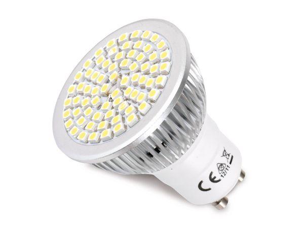 LED-Strahler, GU10, 230 V~, 5 W, 120°, 400 lm, weiß - Produktbild 1