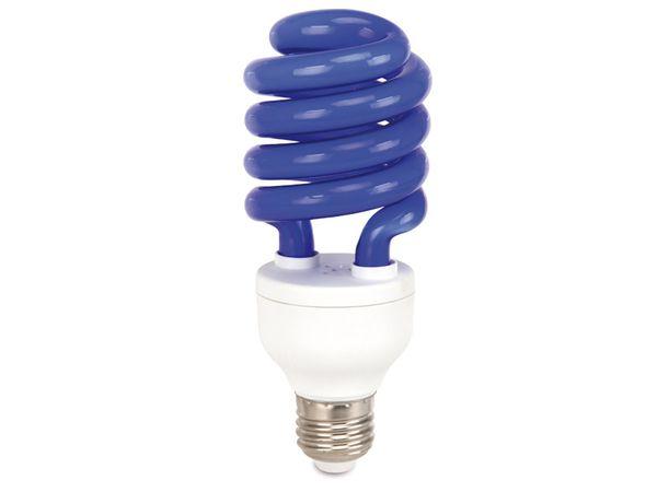 Energiesparlampe DAYLITE S-E27-14WB, E27, EEK: B, 14 W, 80 lm, blau