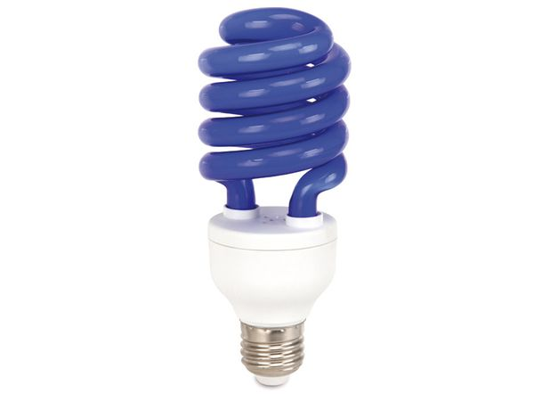 Energiesparlampe DAYLITE S-E27-24WB, EEK: B, E27, 24 W, blau