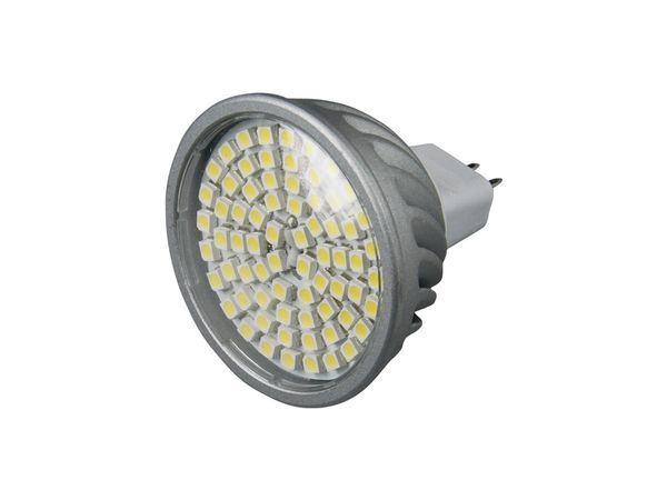 LED-Strahler, MR16, 12 V-, 5 W, 400 lm, weiß