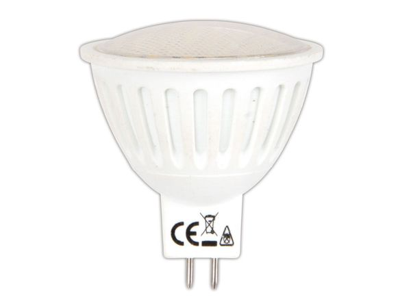 LED-Strahler, MR16, 12 V-, 3 W, 200 lm, warmweiß