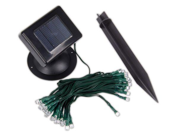 Solar LED-Lichterkette mit 25 warmweißen LEDs