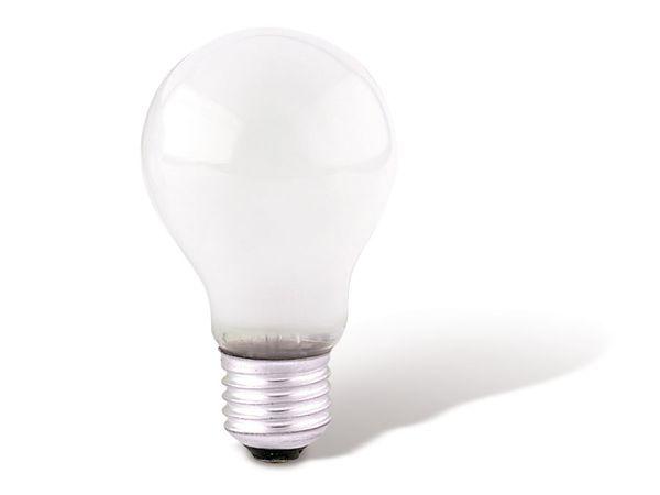 Glühlampe, max. 130 V, E27, EEK: E, 25 W, matt