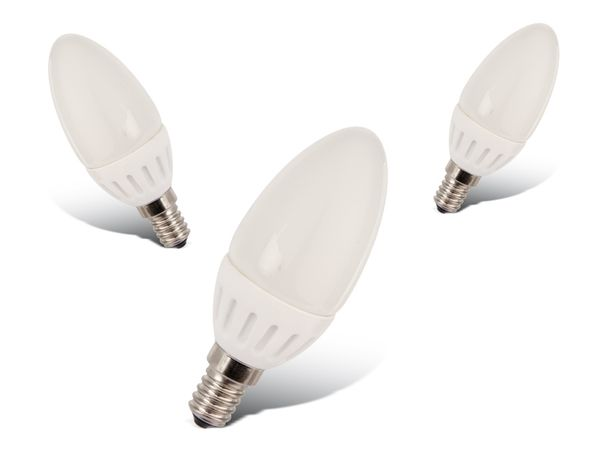 LED-Lampe DAYLITE K-E14-250W, 3 W, 250 lm, 3 Stück