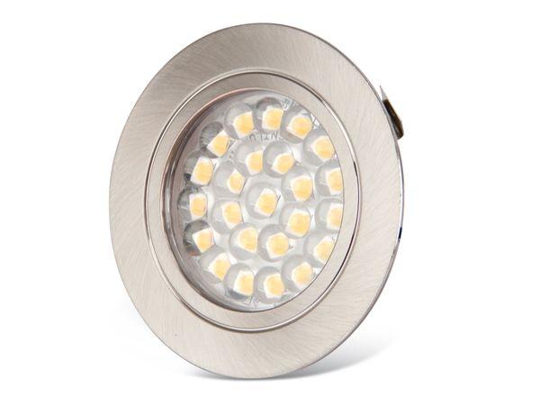 LED-Einbauleuchte DAYLITE PLS-61EW, 12 V-/1,8 W, 3000 K