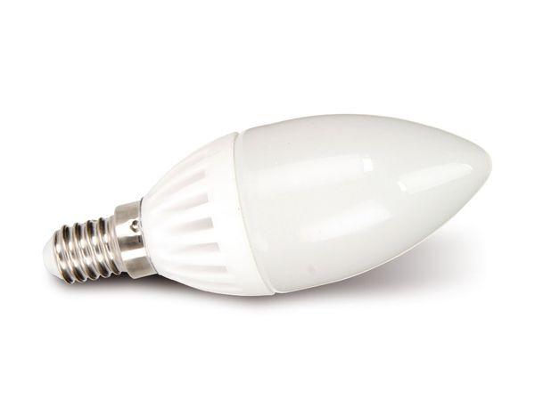 LED-Lampe, E14, 230 V~, 3,5 W, Kerze, matt, dimmbar, DURACELL