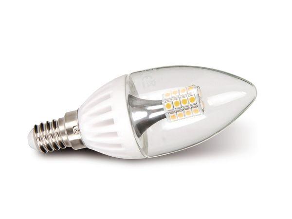 LED-Lampe, E14, 230 V~, 3,5 W, Kerze, klar, dimmbar, DURACELL
