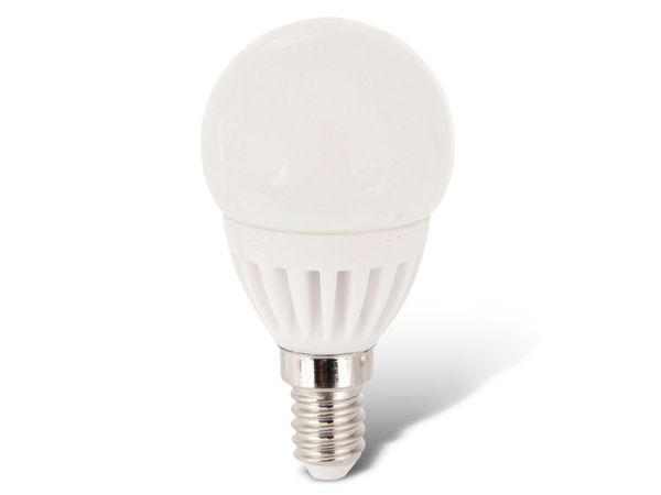 LED-Lampe, E14, 230 V~, 3 W, Mini Globe, matt, DURACELL