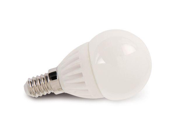 LED-Lampe, E14, 230 V~, 3,5 W, Mini Globe, matt, dimmbar, DURACELL