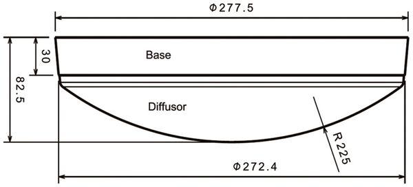 LED Wand- und Deckenleuchte DAYLITE WDL-1500W, EEK: A+, 15W, 1500 lm, 3000K - Produktbild 4