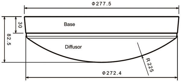 LED Wand- und Deckenleuchte DAYLITE WDL-1500N, EEK: A+, 15W, 1500 lm, 4000K - Produktbild 4