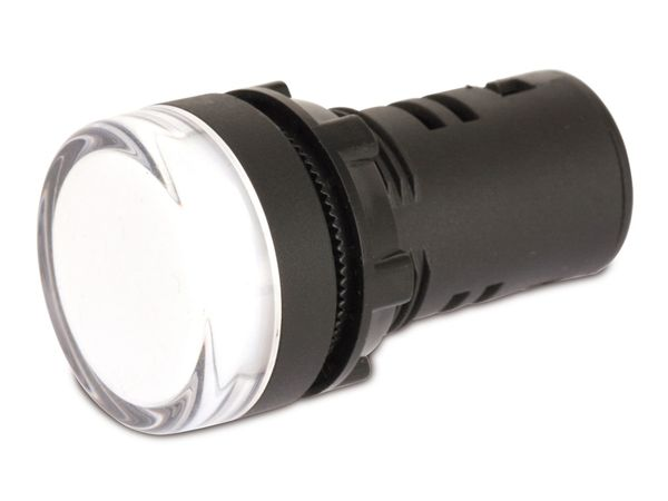 LED-Signalleuchte, Kontrollleuchte DAYLITE LSL-2912W, 12 V, weiß