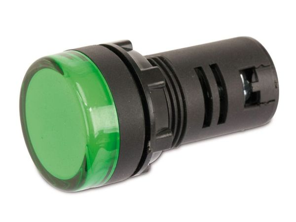 LED-Signalleuchte, Kontrollleuchte DAYLITE LSL-2912G, 12 V, grün