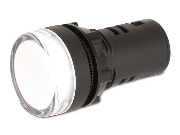 LED-Signalleuchte, Kontrollleuchte DAYLITE LSL-29230W, 230 V, weiß